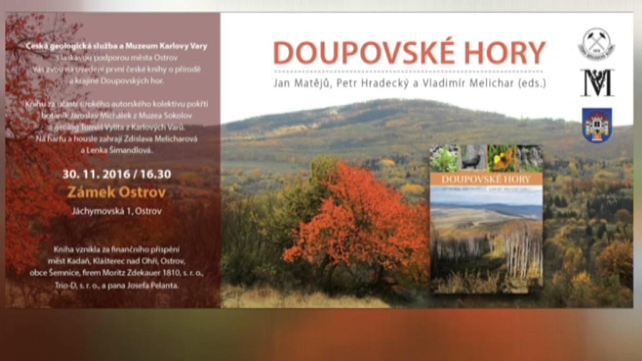 Křest knihy o Doupovských horách