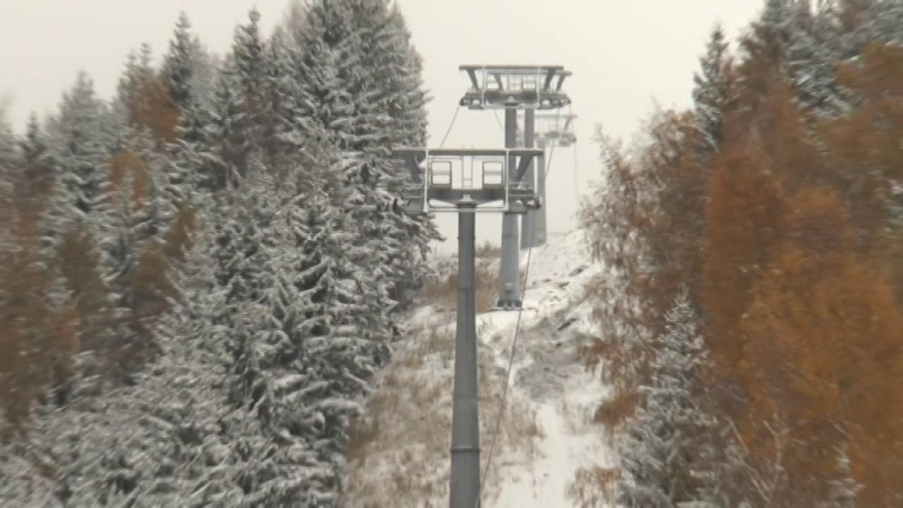 Skiareály v Krušných horách jsou připraveny na zimu