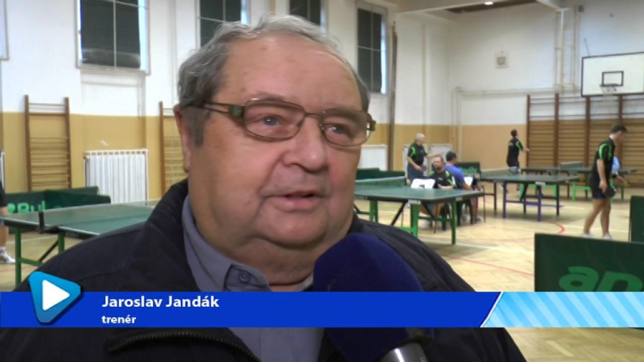 Stolní tenisté TJ Ostrov se utkali v krajském přeboru