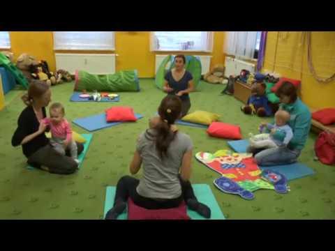 První lekce znakování v RC Ostrůvek