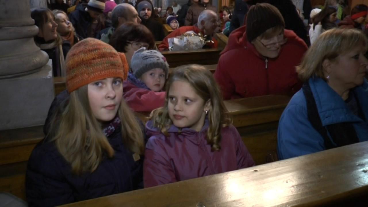 Slavnostní rozsvěcení vánočních stromů v Jáchymově a v Hroznětíně