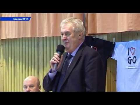 Prezident ČR v Ostrově