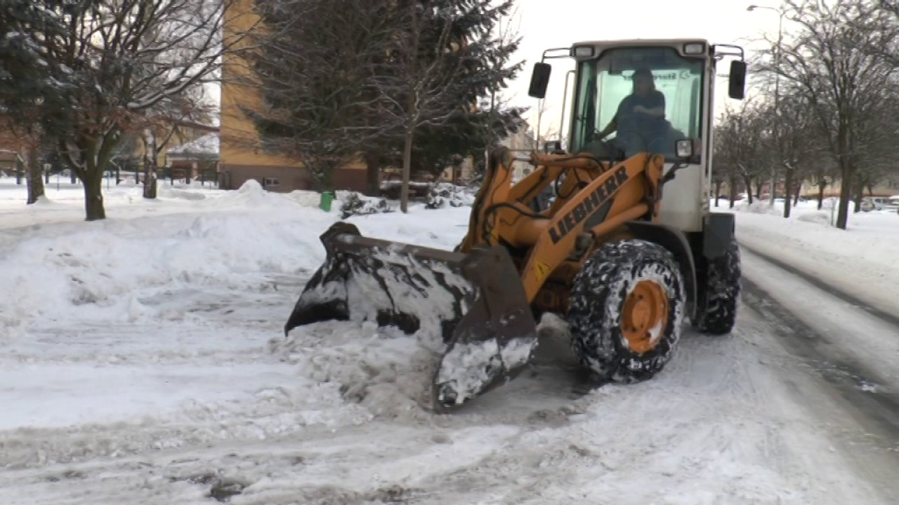 Sněhová situace ve městě