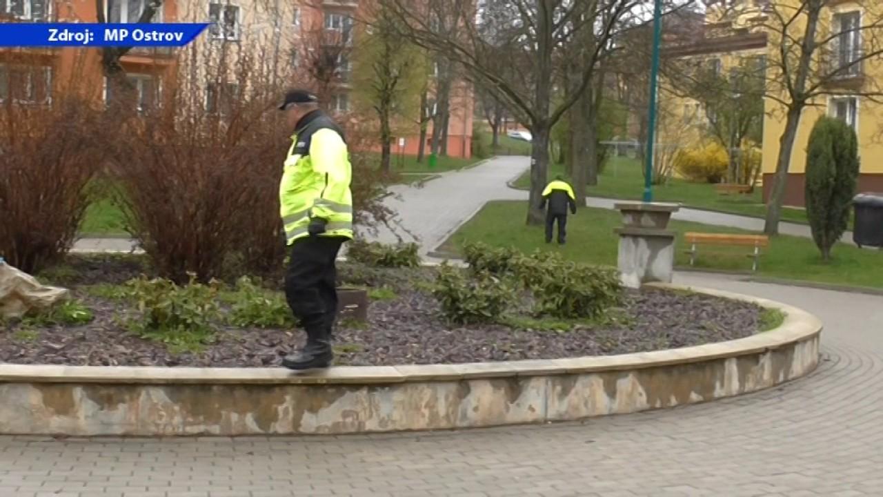 Městská policie – akce Jehla
