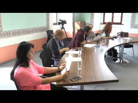 Tisková konference města Ostrov