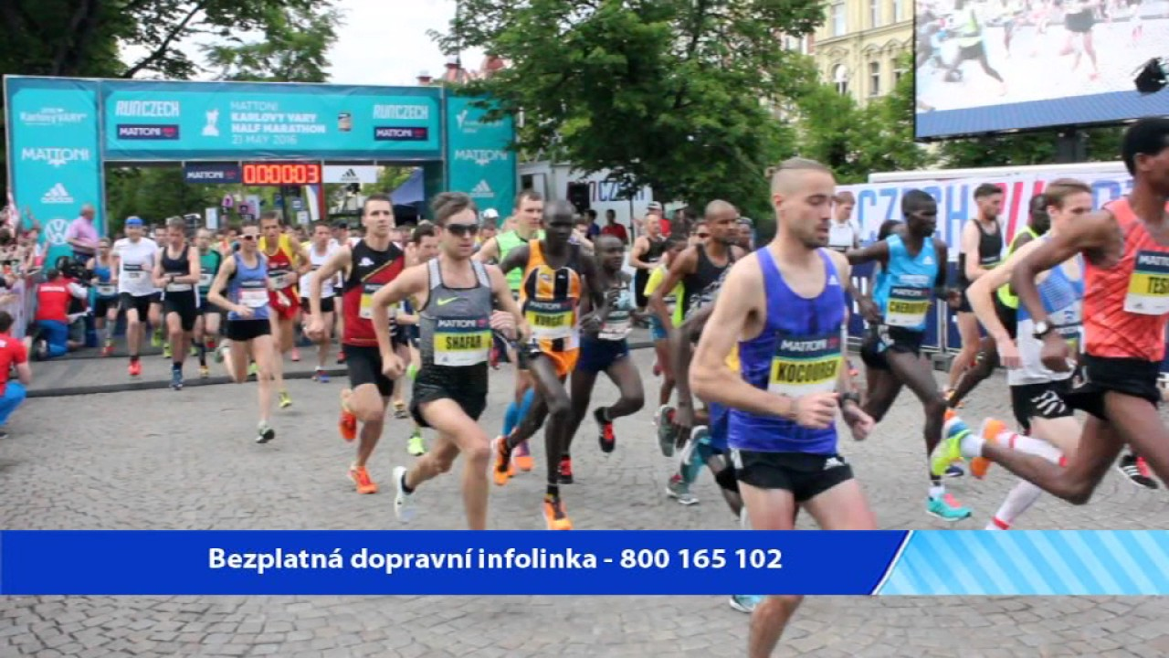 Dopravní omezení při půlmaratonu