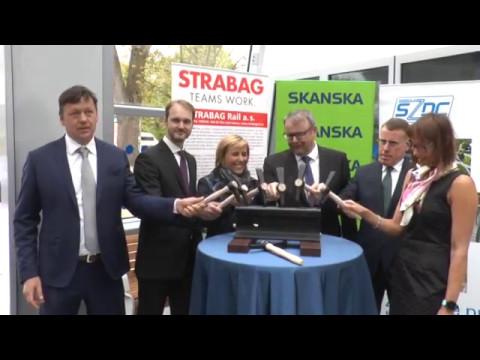 Modernizace železniční stanice v Karlových Varech