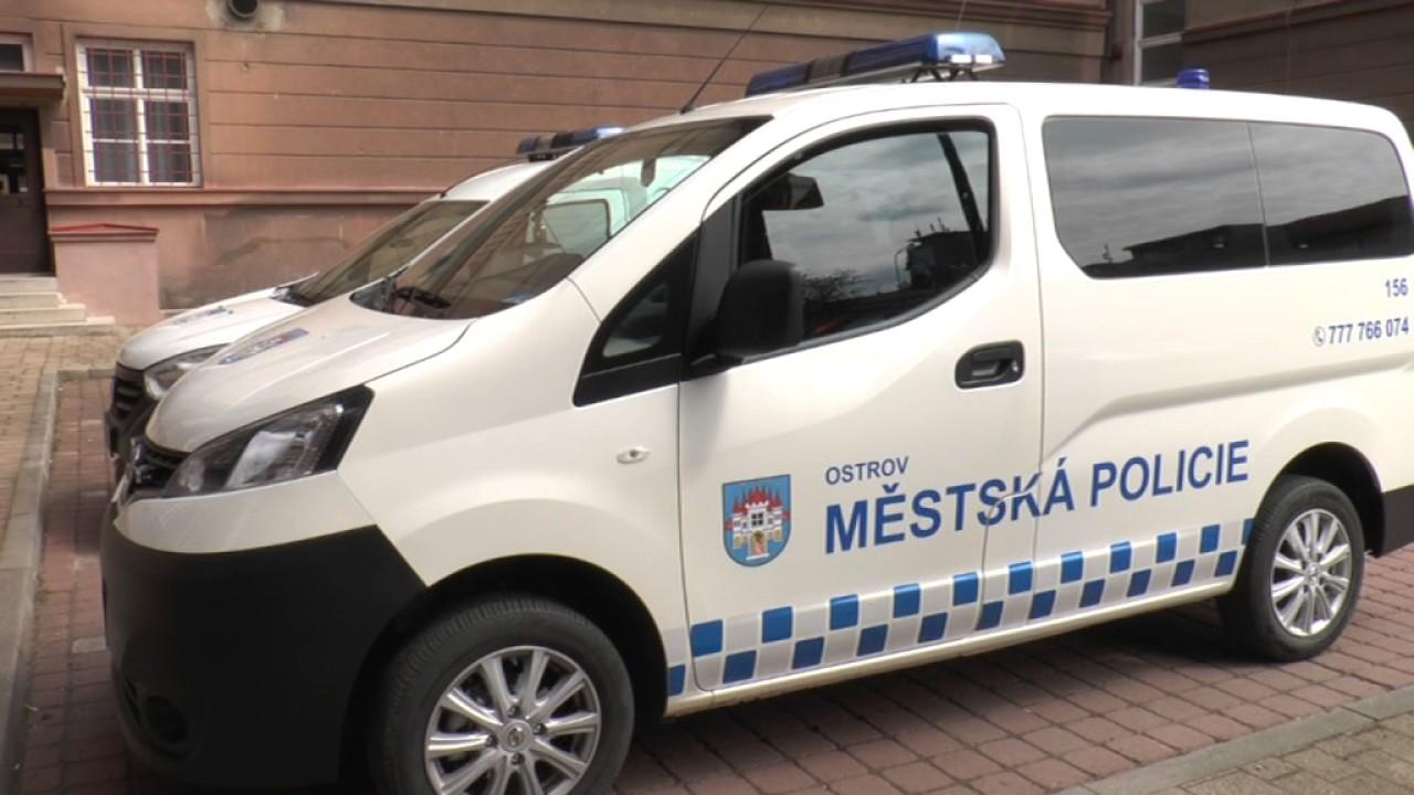 MP Ostrov nový služební vůz