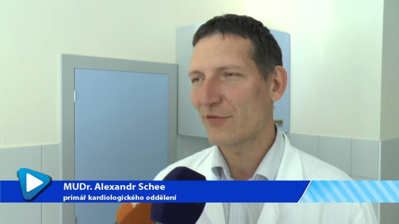 Nové oddělení Kardiologie v nemocnici v Karlových Varech
