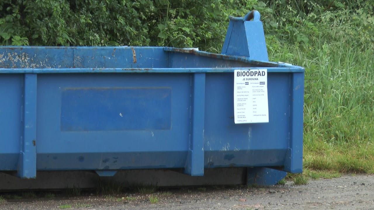 Kontejnery na bioodpad v Ostrově