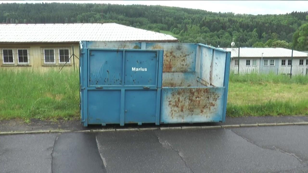 Velkoobjemové kontejnery v Ostrově