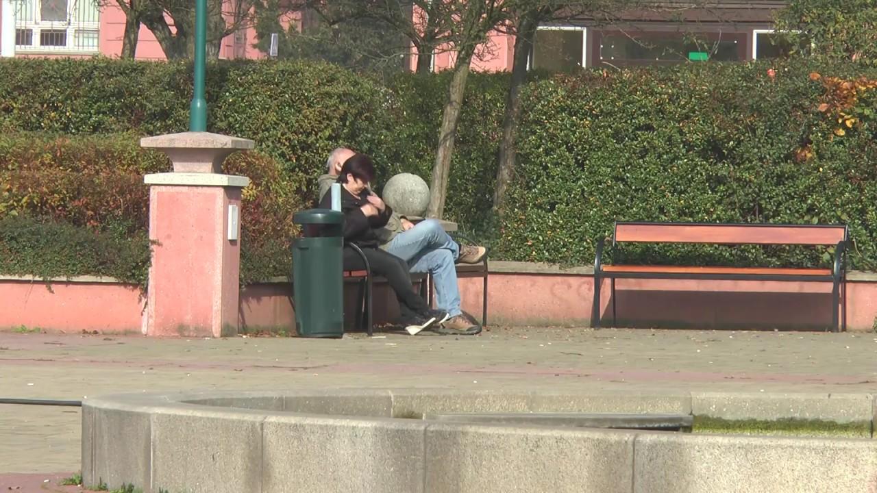 Výměna laviček na Mírovém náměstí