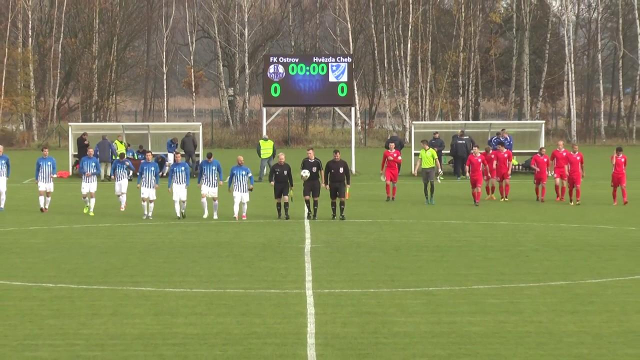 Fotbalisté FK Ostrov se stále drží v čele tabulky