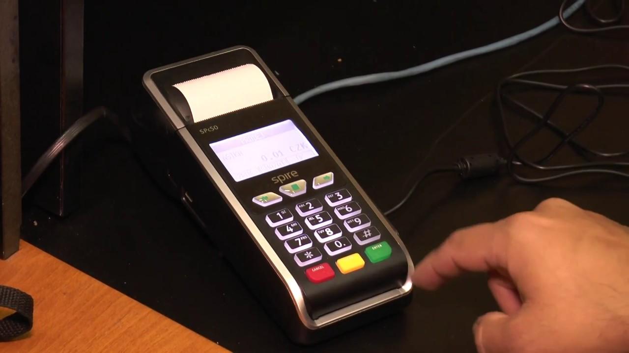 Bezhotovostní platby