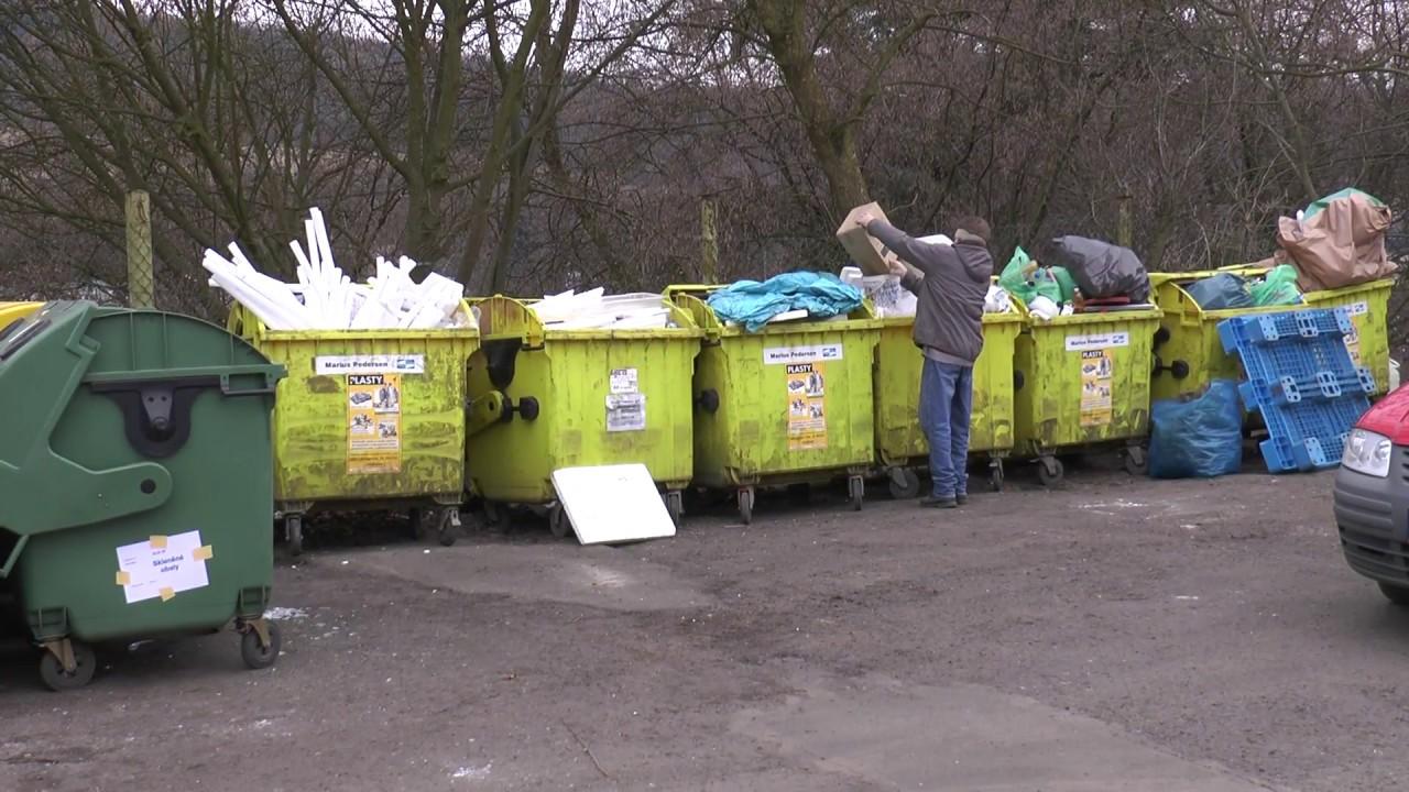 Odpadové hospodářství v Ostrově