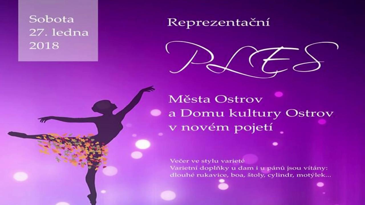 Ples města Ostrov a Domu kultury