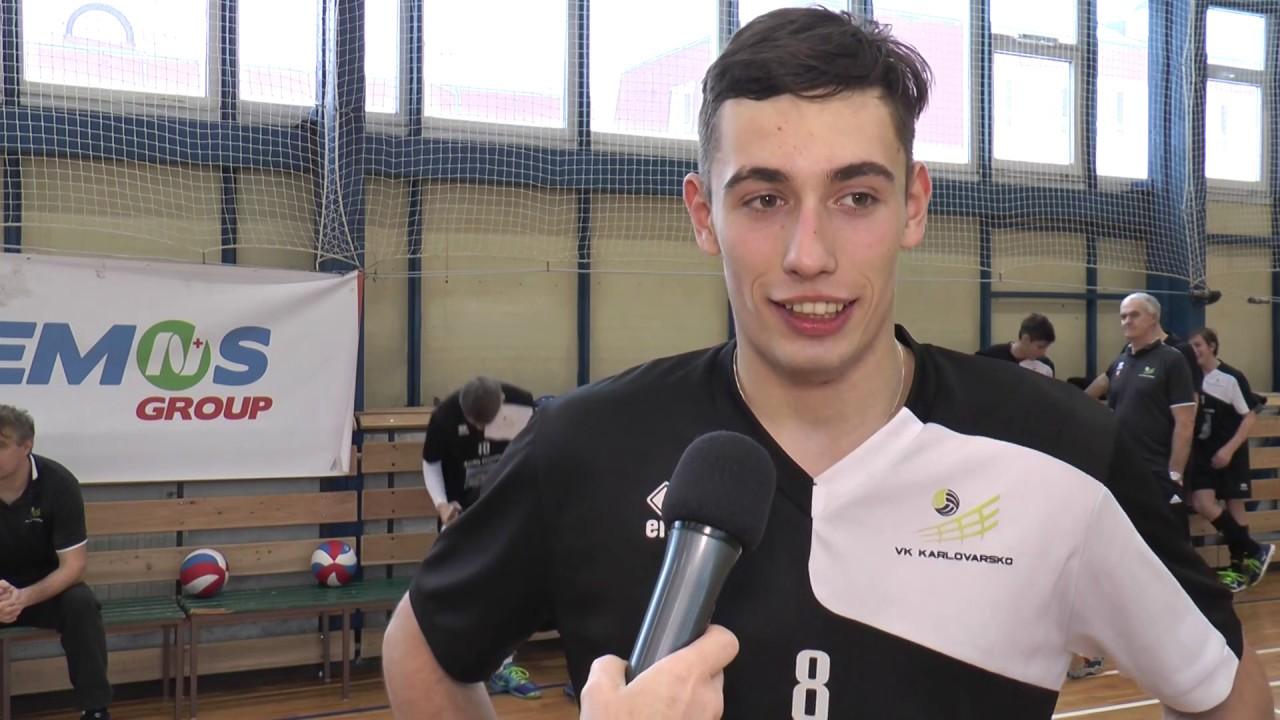 Juniorský tým Volejbal Ostrov odehrál dvojzápas