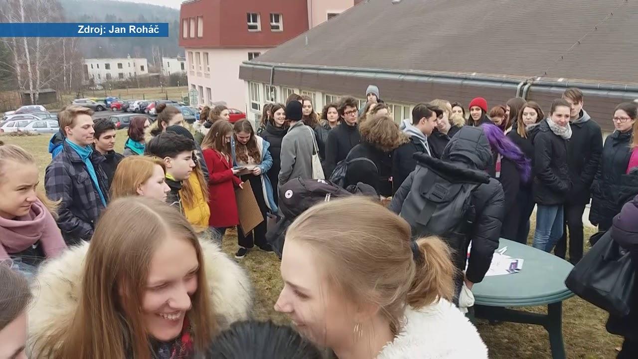 Stávka studentů proběhla po celé České republice