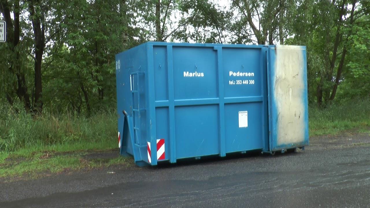 Velkoobjemové kontejnery na bioodpad