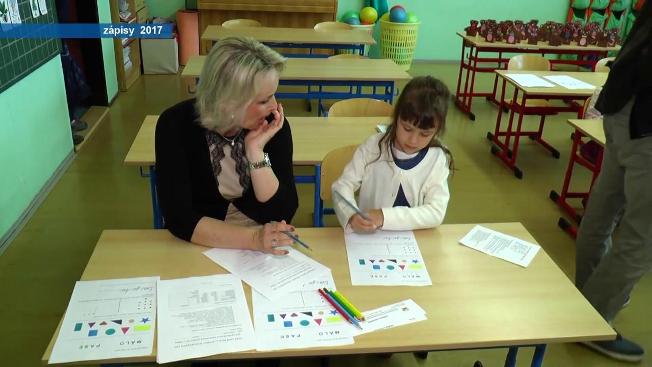 Zápisy dětí do prvních tříd ostrovských základních škol