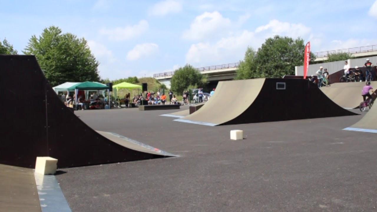 Otevření skateparku