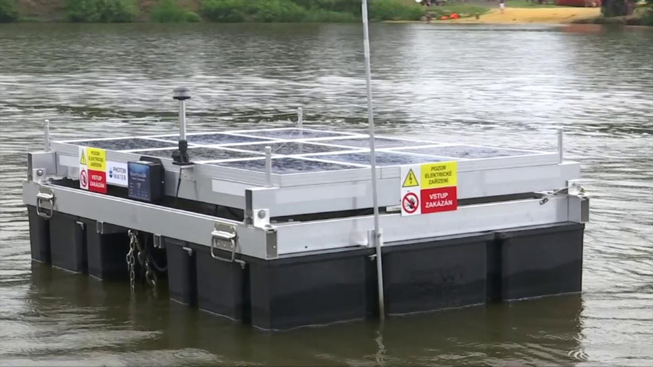 Zařízení proti sinicím – Velký rybník