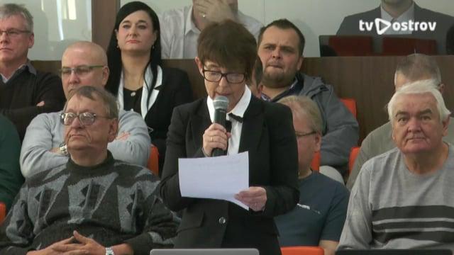 Ustavující Zasedání Zastupitelstva města Ostrov 15.11.2018