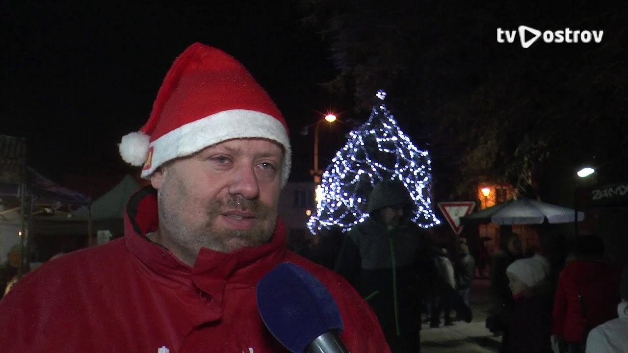 Rozsvícení vánočního stromu Hroznětín