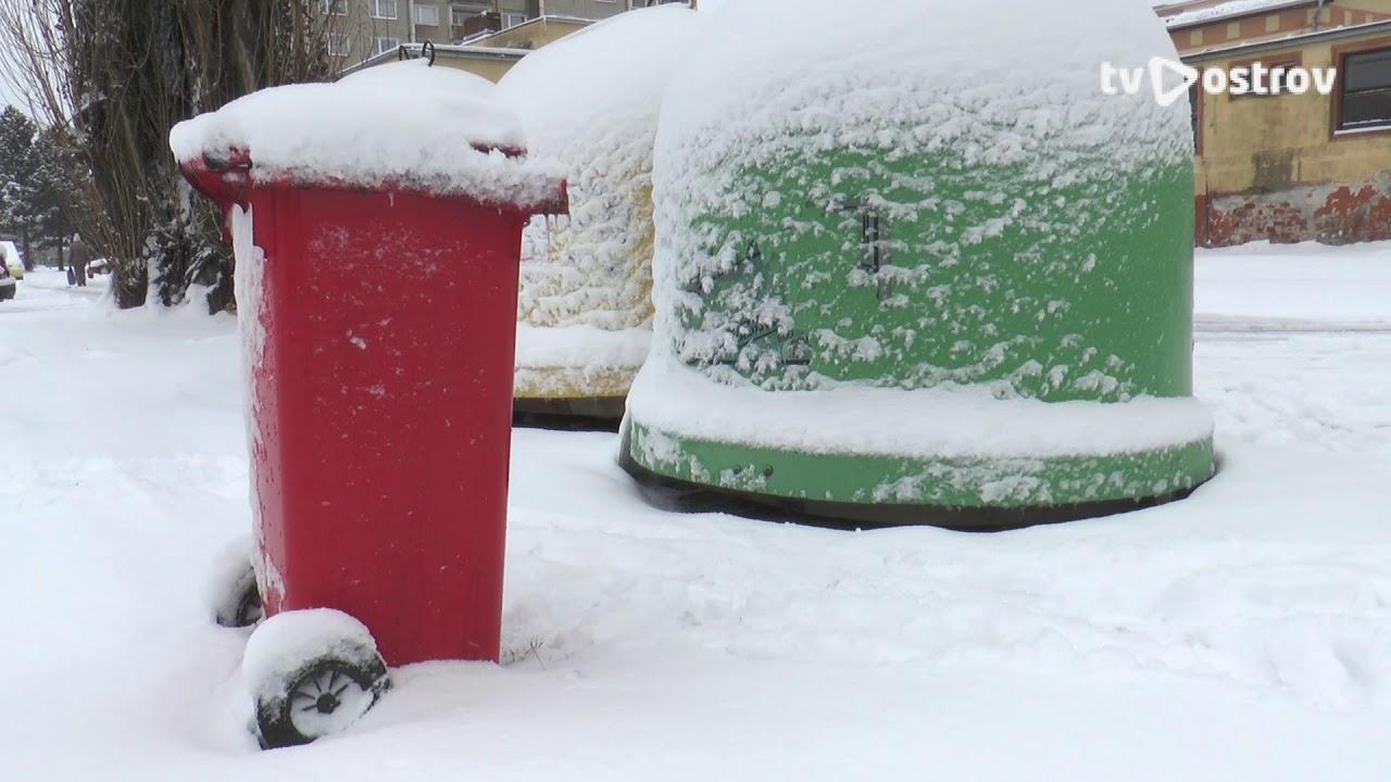 Červené kontejnery