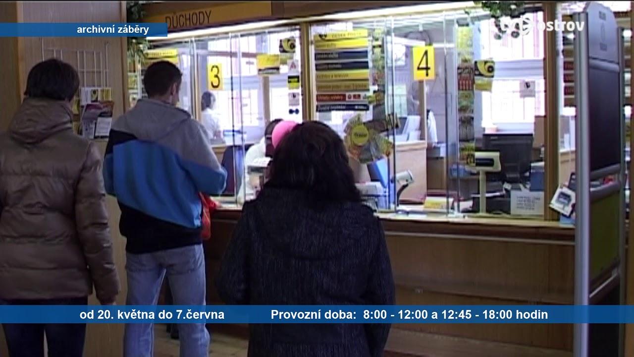 Omezený provoz – Česká pošta