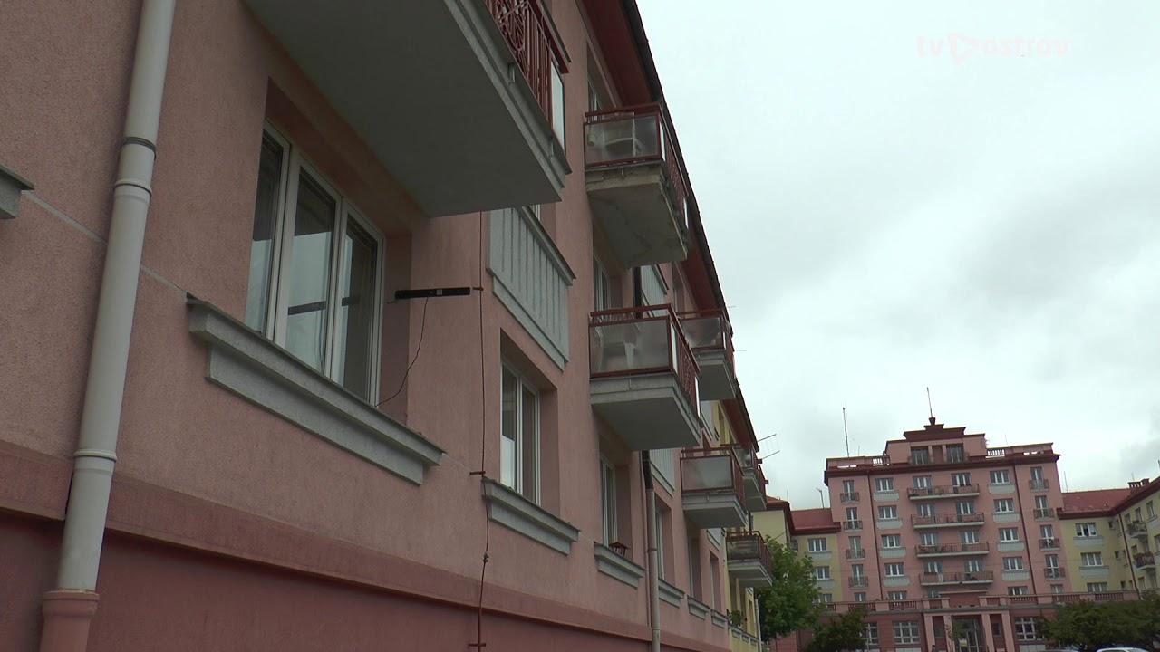 Oprava balkonů – městské byty